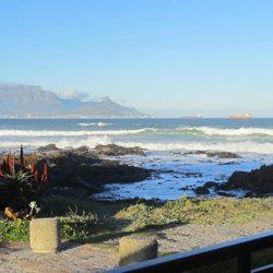table mountain sea view